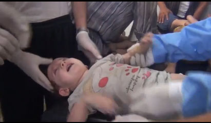 Initial Western intelligence finds chemical weapons used in Syria