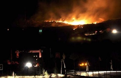 Up to 60 hectares burnt in ammunition depot explosion