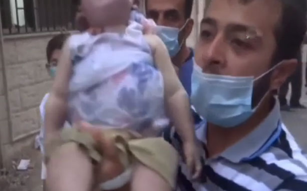New York protests on Damascus chemical deaths