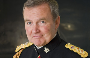 Britain's defence chief warns over its military power