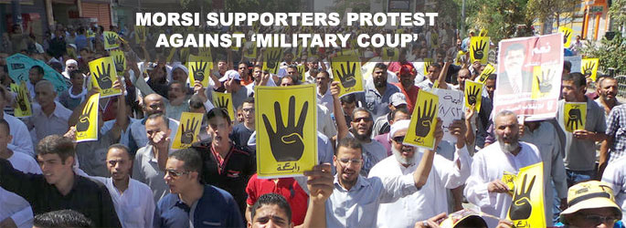 One killed, 78 injured in pro-Morsi rallies throughout Egypt- UPDATED