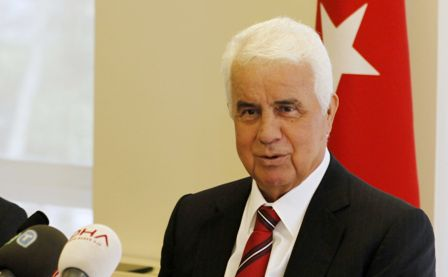 TRNC president says Greek Cypriots not sincere for peace