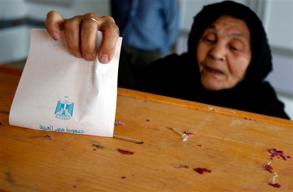 Egyptian expats in low turnout for referendum