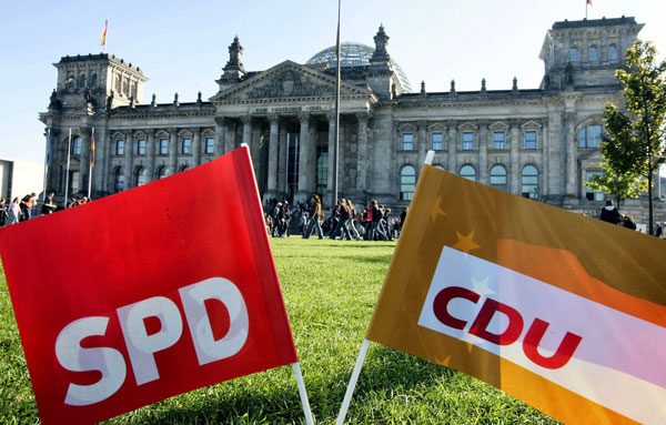 Christian party proposal of 'only German' overturned