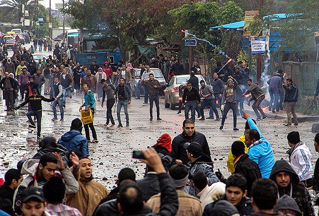 Despite weather, anti-coup protesters stage fresh rallies in Egypt