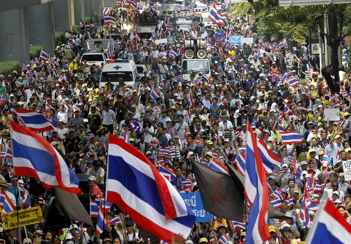 Thai protest leader rejects compromise- UPDATED