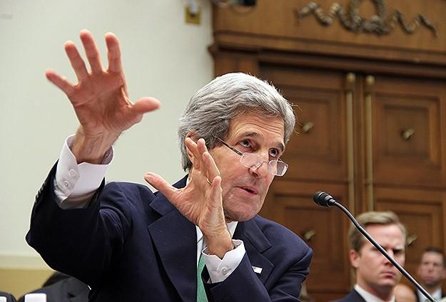 Kerry says Iran could help with Syria during Geneva