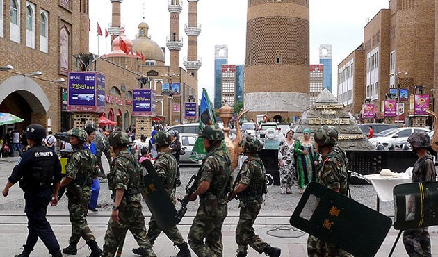 China urges 'respect' for ethnic traditions in East Turkistan