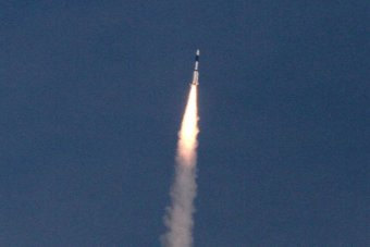India launches its first cryogenic rocket