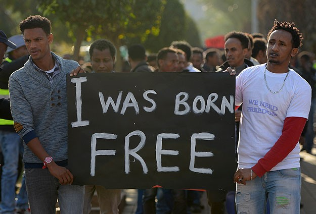African immigrants in Israel not to give up demos