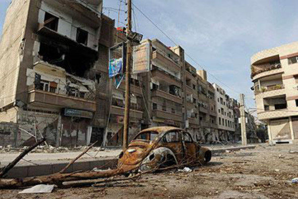 Syria's Yarmouk refugee camp in ruins / PHOTOS