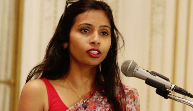 Indian diplomat at centre of row with US has left