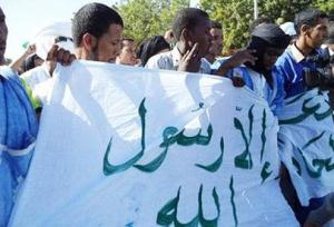 Thousands of Mauritanian Muslims take to the streets