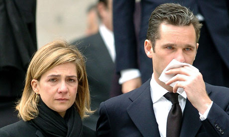 Spain's Princess Cristina to testify over money-laundering