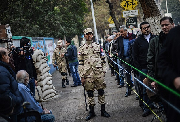 Anti-coup bloc claims 'rigging' in Egypt referendum