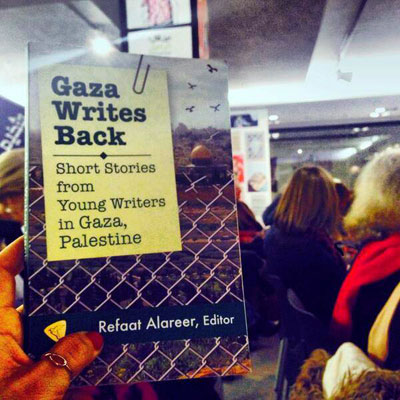 'Gaza Writes Back' book launched in London, UK