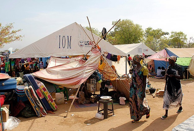 Displaced S. Sudanese face precarious conditions