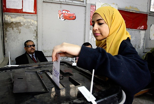 Turnout in Egypt's constitution referendum 38.6