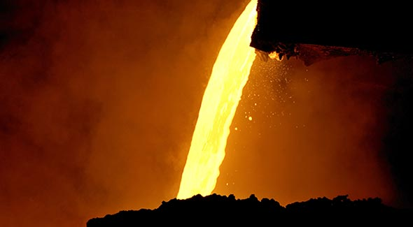 Crude steel production rises in first 6 months