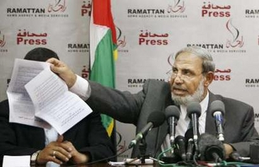 Hamas leader vows to 'try Salam Fayyad'