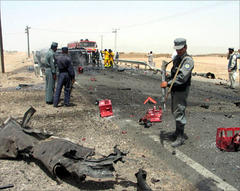 Up to 105 killed in Afghan battles