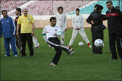 Iran Leader's Love Of Soccer Worries World Cup Host