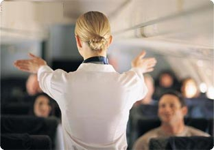 Pregnant women should take special precautions when flying