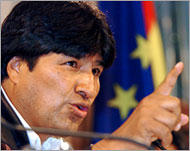 Morales launches Bolivia land reforms