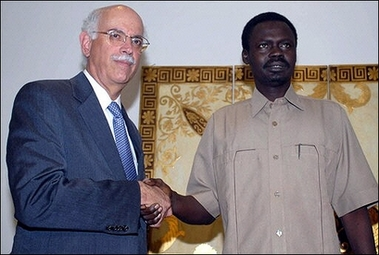 U.S. says Sudan must accept non-African troops