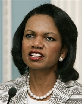 Report: Rice persuades against emergency