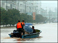 Toll rises after Chinese floods