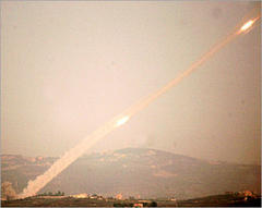 Israel hits Lebanese Roads And Villages