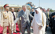 First King Since 1966 Ends Official Visit