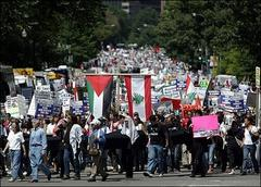 Lebanon Supporters Converge at White House