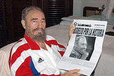 First Pictures Of Recovering Castro