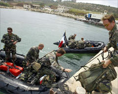French troops arrive in Lebanon
