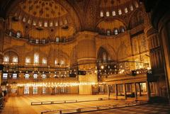 Visit the Turkish mosques in 3D