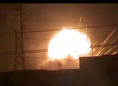 Very Big Explosions in US Camp Falcon on 11th October