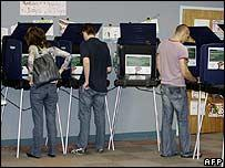 US parties' final push for votes