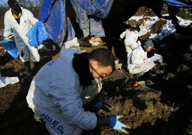 Bosnia leads global search for missing with expertise on bones