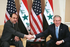 US not to cut and run from Iraq