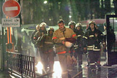 Second hospital fire in Russia