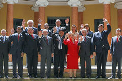 South American leaders study unity