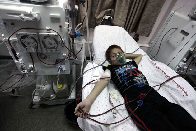 No remedy for patients after destruction of Gaza hospital