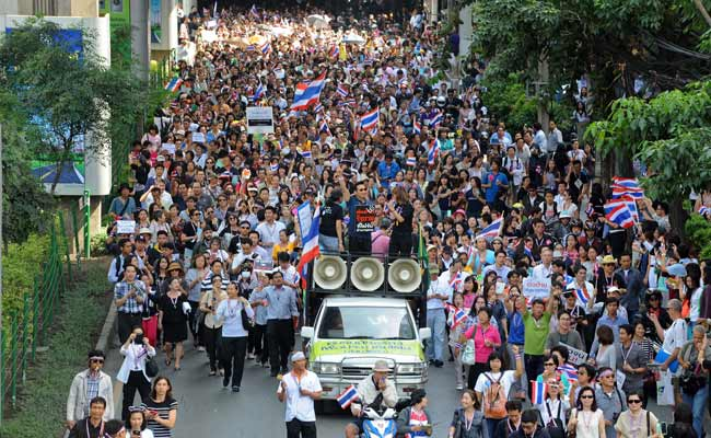 Thai government supporters fear July poll disruption