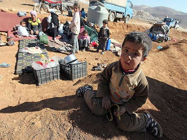 Rich countries urged to take 5 percent of Syrian refugees
