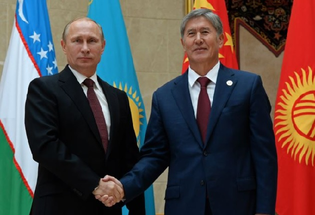 Kyrgyz president vows to join Customs Union
