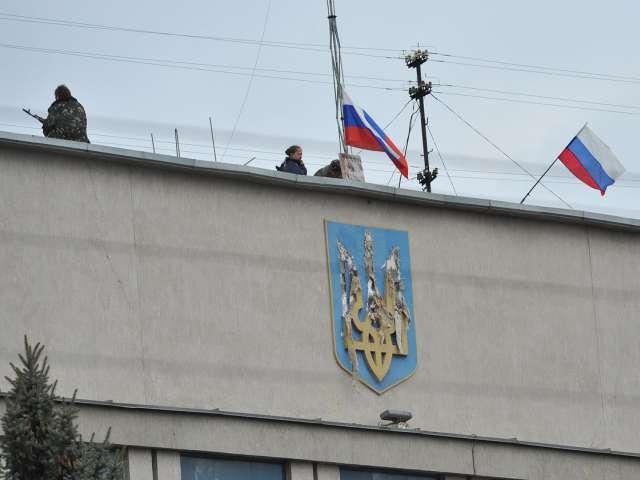 Failing Ukraine state plays in to Russia's hands