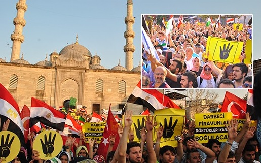 Egyptians in Turkey in hunger strike against executions
