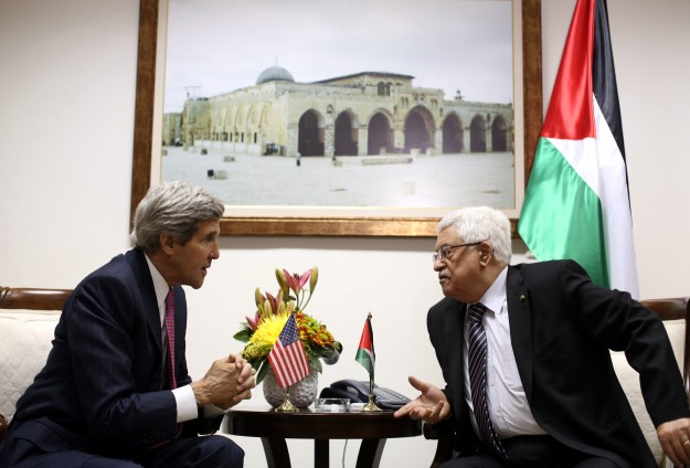 Abbas to meet Kerry on Thursday in London